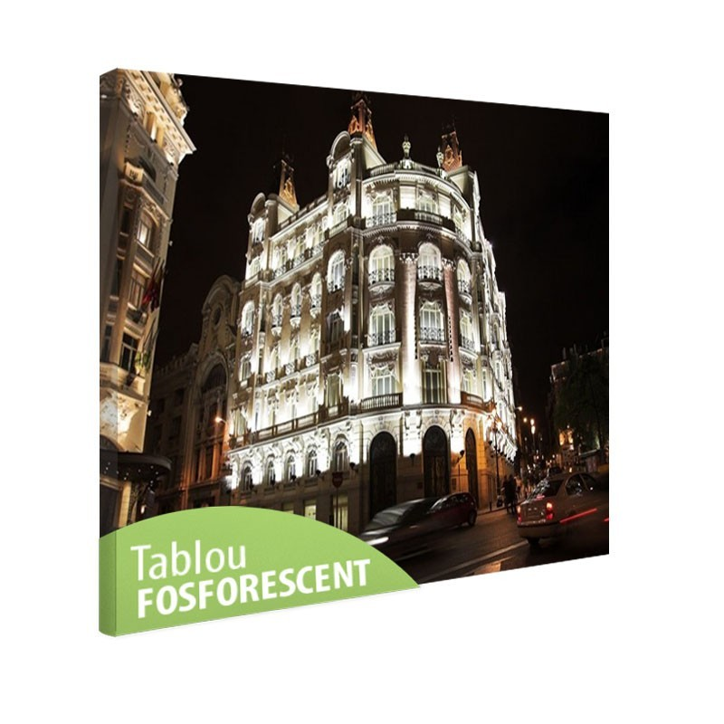 Tablou fosforescent Madrid
