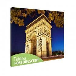 Tablou fosforescent Paris - Arcul de triumf