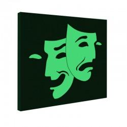 Tablou fosforescent Teatru