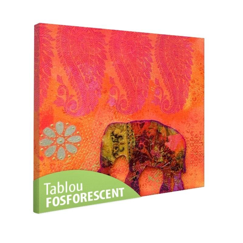 Tablou fosforescent Elefant Feng Shui