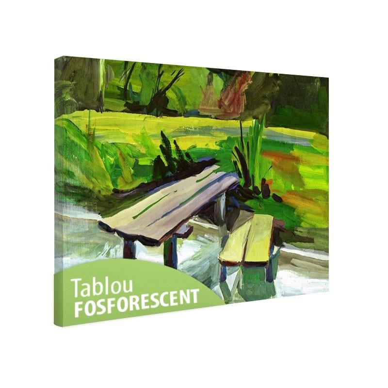 Tablou fosforescent Pictura cu guase