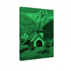 Tablou fosforescent Biserica