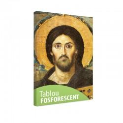 Tablou fosforescent Iisus cu biblia