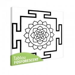 Tablou fosforescent Meditatie 2