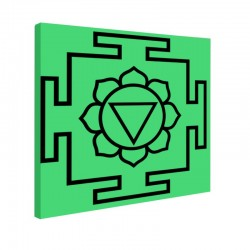 Tablou fosforescent Meditatie 3