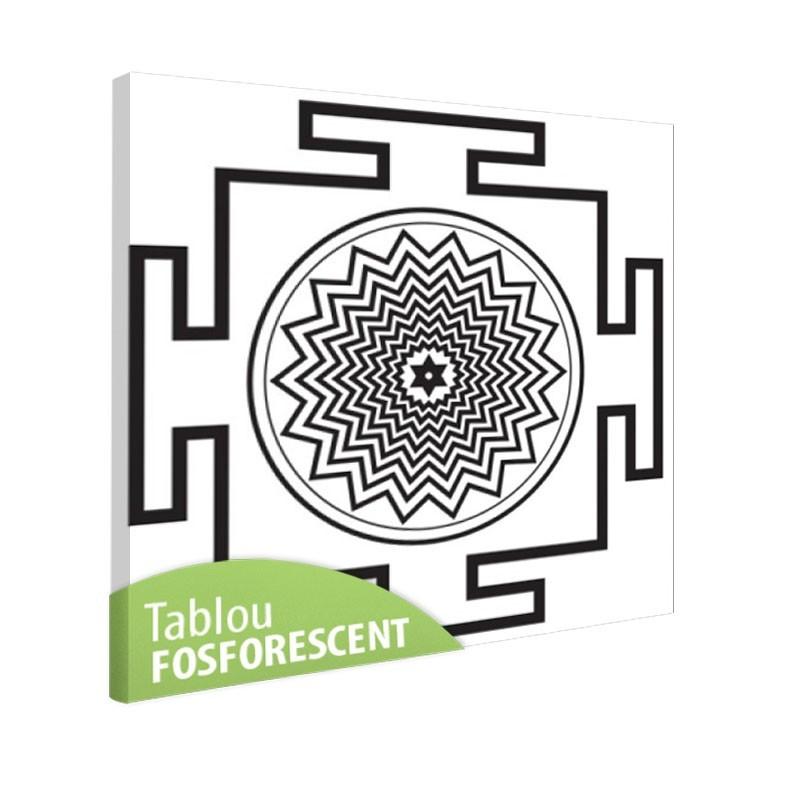 Tablou fosforescent Meditatie 5