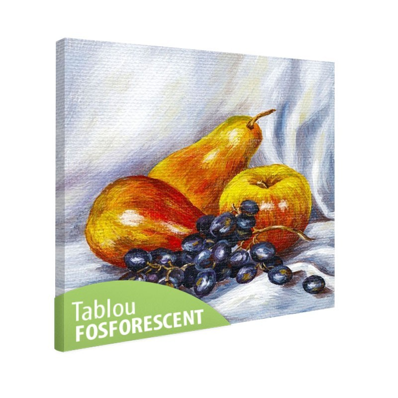 Tablou fosforescent Fructe