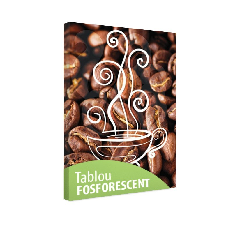 Tablou fosforescent Ceasca de cafea