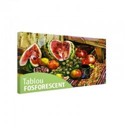 Tablou fosforescent Fructe pe masa