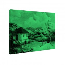 Tablou fosforescent Casa de la tara