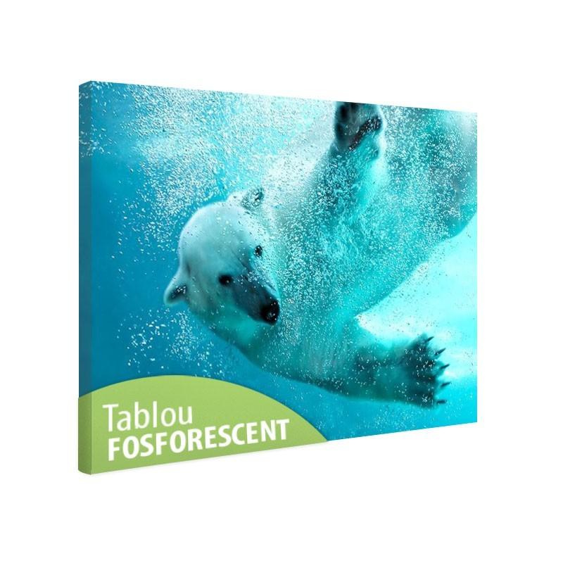 Tablou fosforescent Urs polar