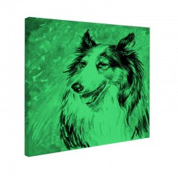 Tablou fosforescent Collie