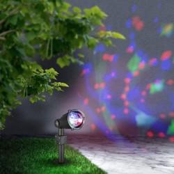 Proiector Meriton, pentru exterior, LED RGB, Globo