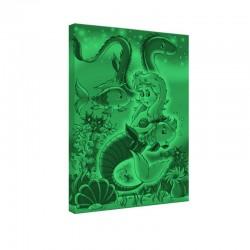 Set tablou fosforescent Sirena