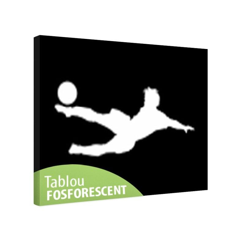 Tablou fosforescent Fotbalist