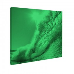 Tablou fosforescent, 30x30 cm, Ocean Wave
