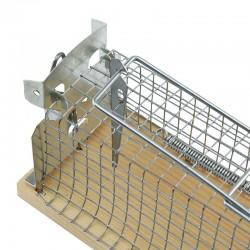 Cursa prindere rozatoare mici, capcana metalica, blocare automata, 13cm