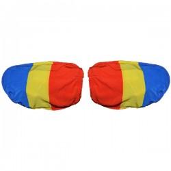 Set 2 huse tricolore pentru oglinzi de masina