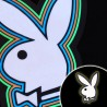 Tricou luminos cu egalizator Playboy