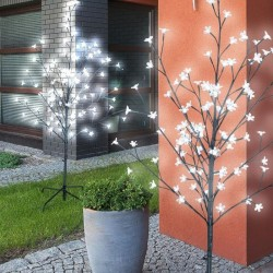 Copac luminos, 108 LED-uri, IP44, inaltime 130 cm