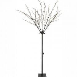 Pom luminos pentru exterior, 240 LED-uri, inaltime 230 cm, IP44, Vidris