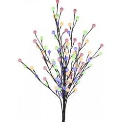 Copac decorativ iluminat cu 96 LED-uri colorate, 100 cm, pentru exterior, Vidris
