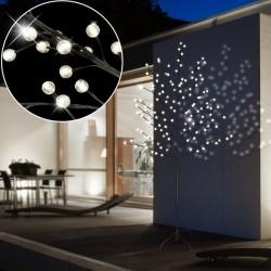 Decoratiune copac luminos cu 128 LED-uri, 160 cm, exterior