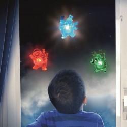 Decoratiune luminoasa fereastra Ren, LED multicolor, pentru Craciun, Home