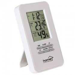 Termometru cu higrometru interior, alarma, Home