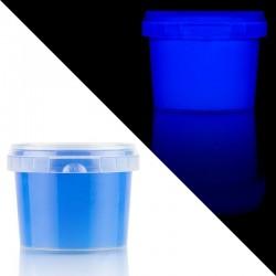 Vopsea luminescenta albastra