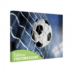 Tablou fosforescent Fotbal, 60x40 cm