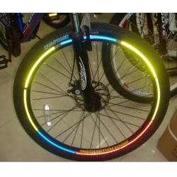 Banda adeziva reflectorizanta pentru bicicleta si motocicleta