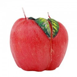 Lumanare decor love apple, diametrul 9cm