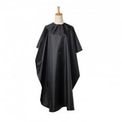 Pelerina pentru tuns/vopsit, material impermeabil, negru