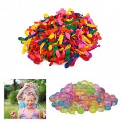 Baloane, set 500 bucati, 7 culori, sistem de umplere cu apa sau aer