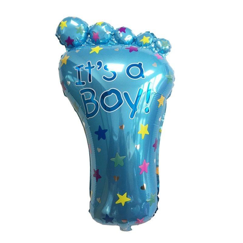 Balon folie model Talpa Bebe, 43x68 cm, mesaj It's a Boy It's a Girl