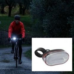 Lumina bicicleta 3 LED-uri, far alb cu baterii