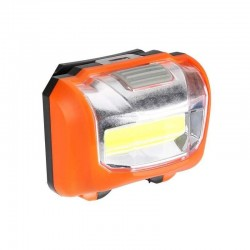 Lampa fata bicicleta, 10xLED COB, 3 moduri iluminare, clema fixare, ABS