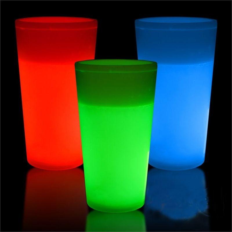Pahar neon party pentru club, festival si petreceri cu stil, 350 ml