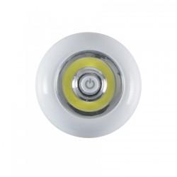 Lanterna tip aplica, LED alb tip COB, lumina rece, cu ventuza, Home