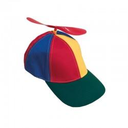 Sapca multicolora cu elice din plastic, Funny Fashion