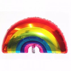 Balon folie Rainbow, 61x95 cm, multicolor