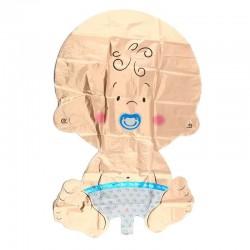 Baloane decorative bebelusi, inaltime 200 cm, suport, set 16 piese