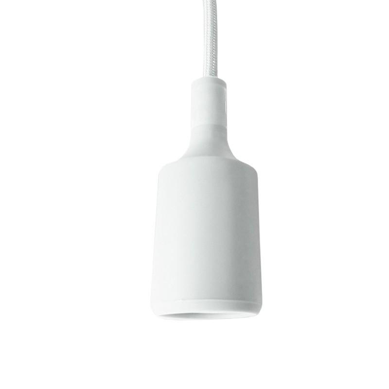 Lampa suspendata lungime cablu 100 cm, 230 V, max 60 W, alb