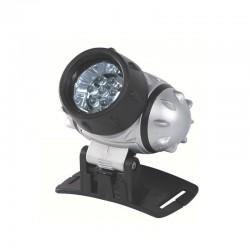 Lanterna frontala, 7 LED-uri, 3 functi, unghi reglabil