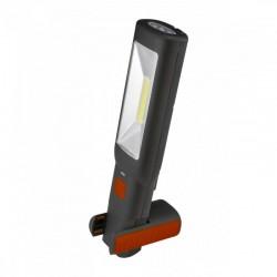 Lampa de montaj cu LED, magnetica, cap reglabil, baterie reincarcabila
