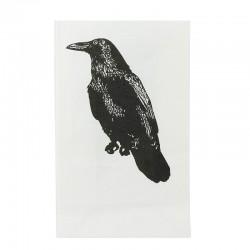 Lampioane decorative fixe Black Raven, inaltime 25 cm, set 5 bucati