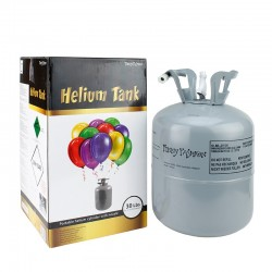 Butelie cu heliu 0.25 mc pentru umflarea baloanelor, Funny Fashion