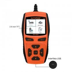 Interfata pentru diagnoza auto OBD II 16 pini, Auto Phix 7810
