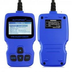 Interfata diagnoza auto OBD II, EOBD pentru WV, Audi, Skoda, Seat, Auto Phix V007